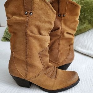 BCBGeneration- Holland western suede boots